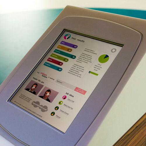 iPad Careers Education app