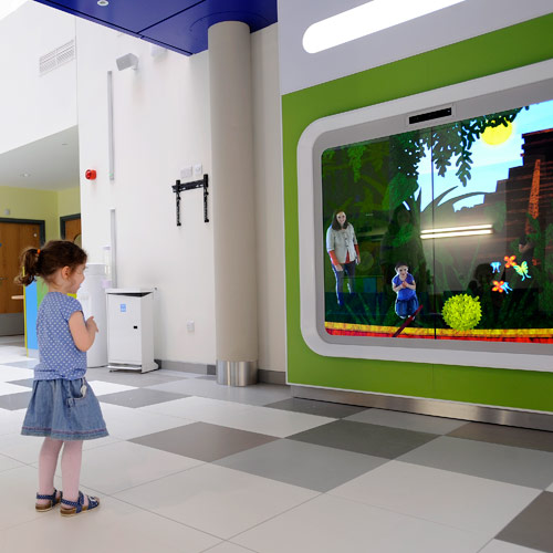 Interactive Storybook, Southern General Hospital