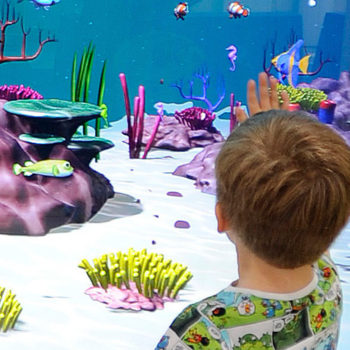 Interactive Virtual Aquarium
